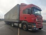 Scania, R420, 2008, Серый, 22000, USD, Сцепка Scania R420 мега + Koegel 2008г.в. КПП-...
