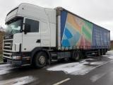 Scania, 124, 2004, 1177000, Белый, 19800, USD, Сцепка Scania 124 мега + Schmitz SCL24/L. Остаток...