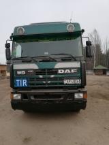 DAF, 95, 1995, Дизель, механическая, 8000, USD, продажа вместе с полуприцепом, +375 (29) 1884331...